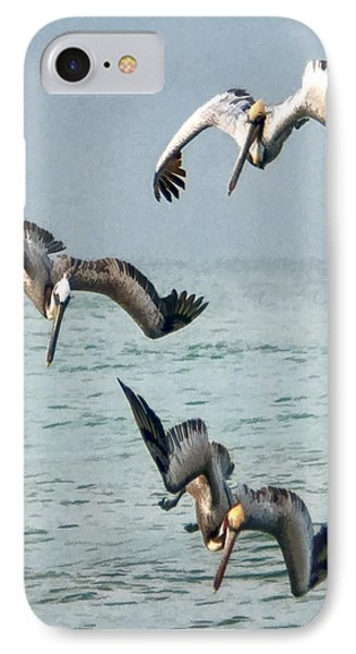IPhone Case featuring the photograph Divers by Don Durfee