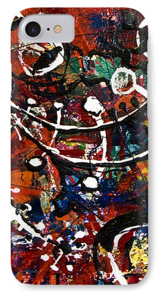 IPhone Case featuring the painting Divertimento No.13 by Alexandra Jordankova