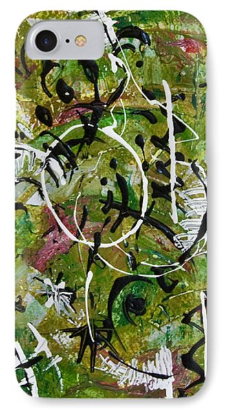 IPhone Case featuring the painting Divertimento No.7 by Alexandra Jordankova