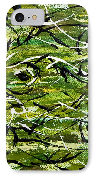 IPhone Case featuring the painting Divertimento No.8 by Alexandra Jordankova