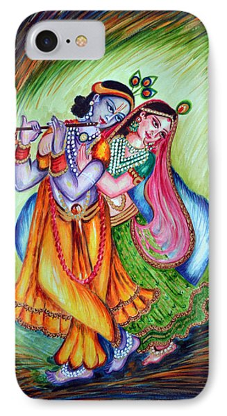 Divine Lovers IPhone Case by Harsh Malik