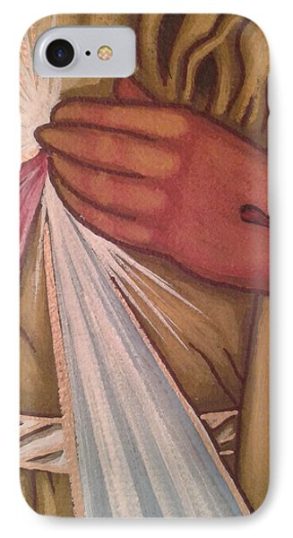Divine Mercy IPhone Case by Susan Howard
