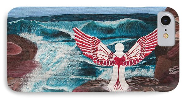 Divine Power IPhone Case by Cheryl Bailey
