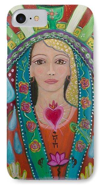 Divine Spark Of Creativity Phone Case by Havi Mandell