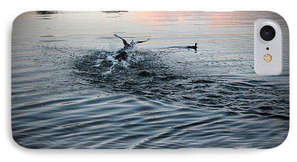Diving Ducks IPhone Case
