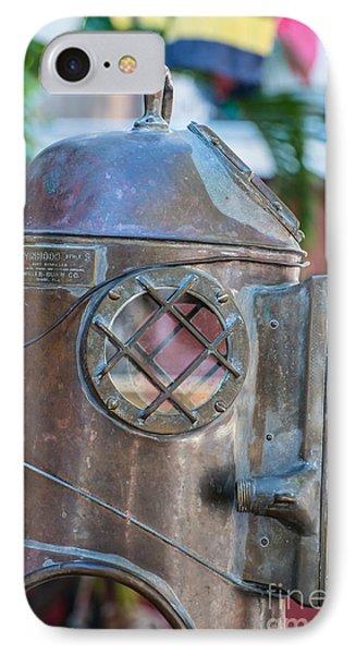 Diving Helmet Key West IPhone Case by Ian Monk