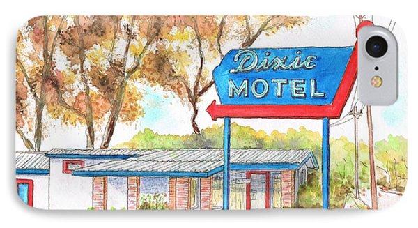 Dixie Motel In Hilliard - Florida IPhone Case by Carlos G Groppa