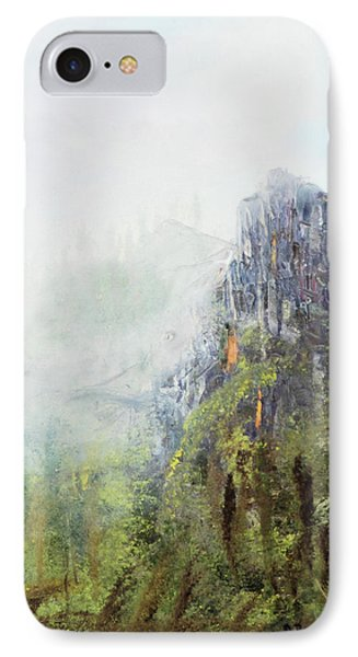 IPhone Case featuring the painting Dixville Notch Nh by Michael Daniels