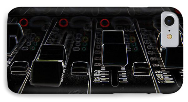 Dj Sound Board IPhone Case by Marvin Blaine