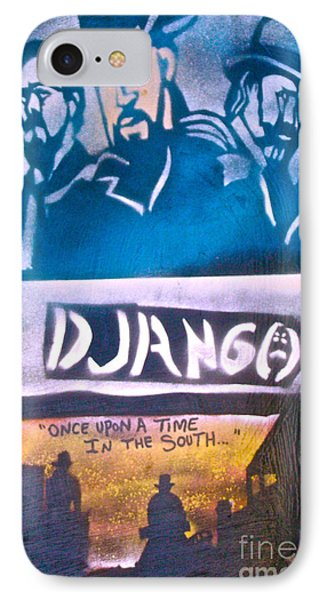 Django Once Upon A Time Phone Case by Tony B Conscious