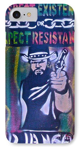 Django Rasta Resistance Phone Case by Tony B Conscious