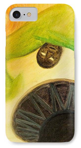 IPhone Case featuring the painting Djembe by Marc Philippe Joly