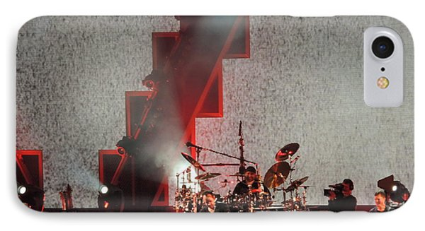 IPhone Case featuring the photograph Dmb Members by Aaron Martens
