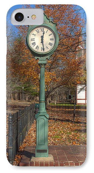 Do You Have The Time IPhone Case by Thomas Sellberg