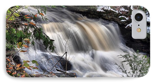 IPhone Case featuring the photograph Doane's Lower Falls In Central Mass. by Mitchell R Grosky