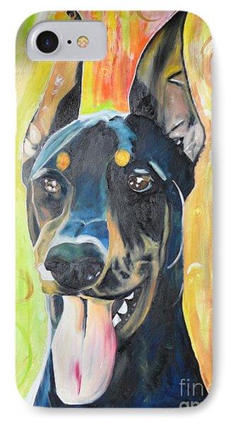 Doberman Phone Case by PainterArtist FIN