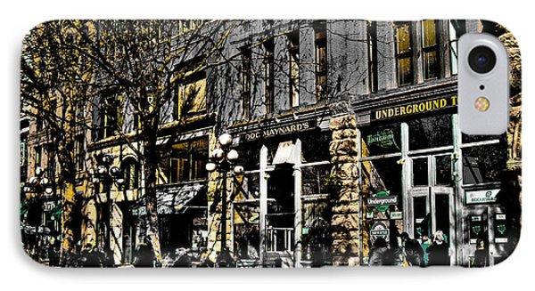 Doc Maynards And The Underground Tour - Seattle Washington Phone Case by David Patterson