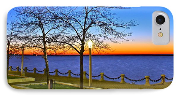 Dock Of The Bay Phone Case by Frozen in Time Fine Art Photography