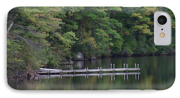 Dock On Mt Chocorua Lake IPhone Case by Denyse Duhaime