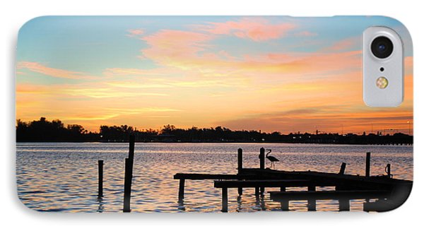 Dock On The Bay IPhone Case by Margie Amberge