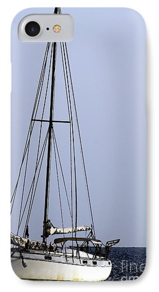 IPhone Case featuring the photograph Docked At Bay by Lilliana Mendez
