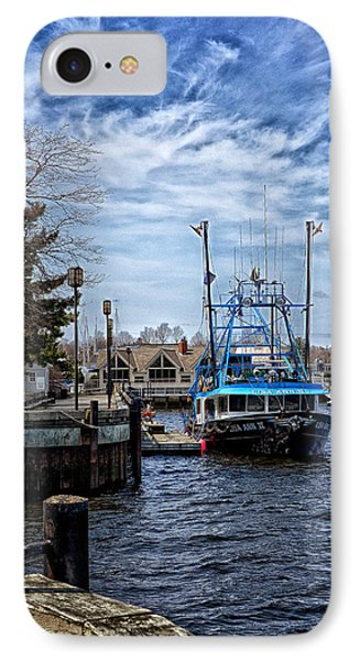 Docked IPhone Case by Tricia Marchlik