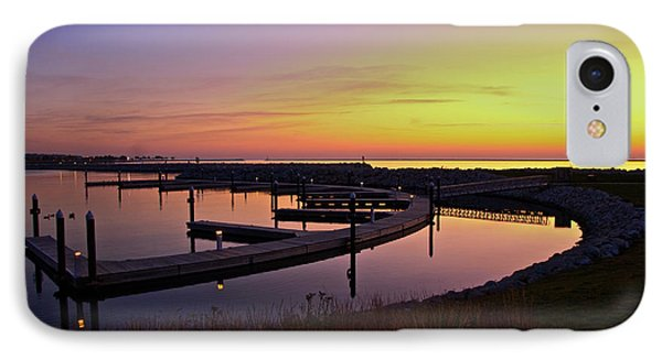IPhone Case featuring the photograph Docks At Sunrise by Jonah  Anderson