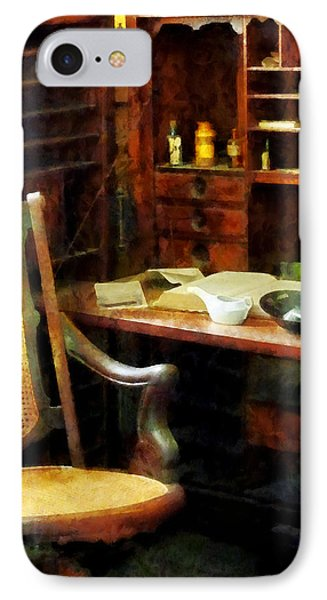 IPhone Case featuring the photograph Doctor - Doctor's Office by Susan Savad