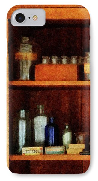 Doctor - Medicine Chest With Asthma Medication Phone Case by Susan Savad