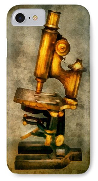 Doctor - Microscope - The Start Of Modern Science Phone Case by Mike Savad