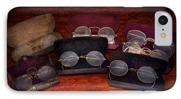 Doctor - Optometrist - Array Of Opticals Phone Case by Mike Savad