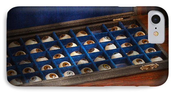 Doctor - Optometrist - I've Always Had Eyes For You Phone Case by Mike Savad