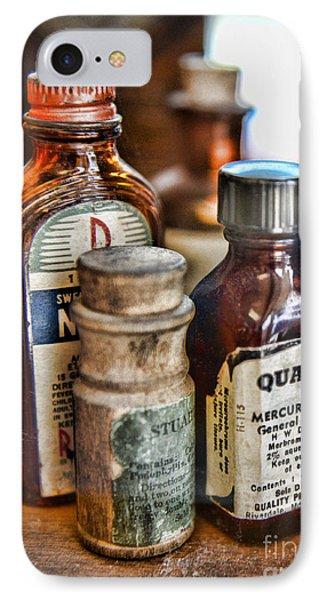 Doctor The Mercurochrome Bottle Phone Case by Paul Ward