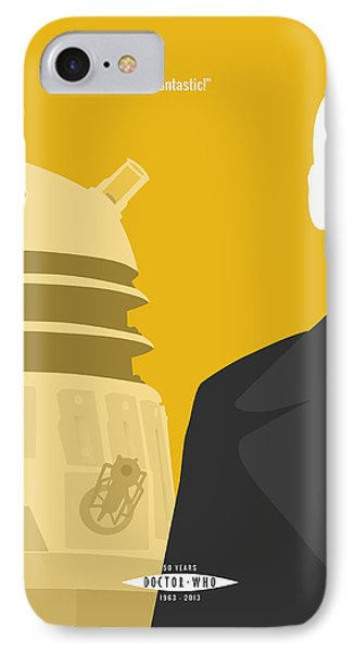 Doctor Who 50th Anniversary Poster Set Nineth Doctor IPhone Case