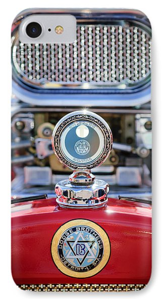 Dodge Brothers - Boyce Motometer IPhone Case by Jill Reger