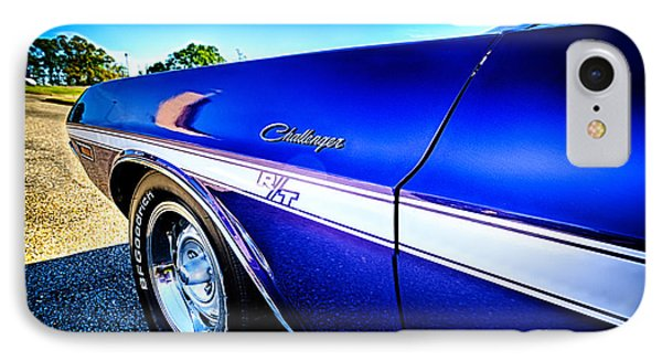 Dodge Challenger At Car Show IPhone Case by Danny Hooks