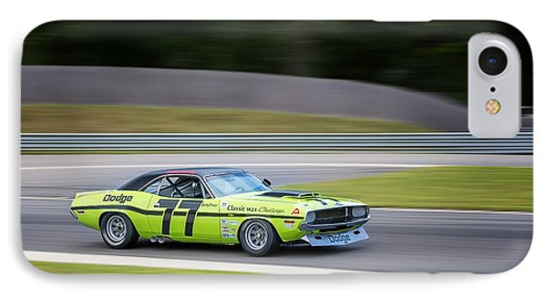 Dodge Challenger Phone Case by Bill Wakeley