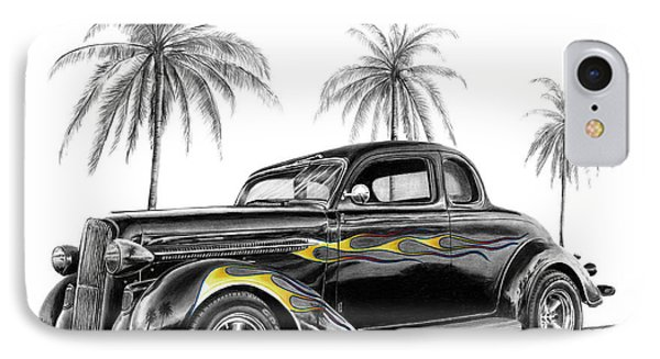 Dodge Coupe IPhone Case by Peter Piatt
