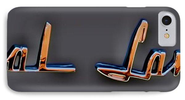 Dodge Royal Lancer Emblem IPhone Case by Lesa Fine