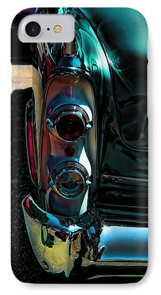 Dodge Royal Lancer Taillights Green IPhone Case by Lesa Fine