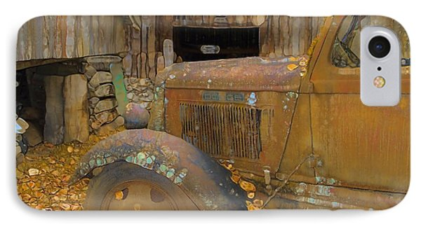 Dodge Truck Autumn Abstract Phone Case by Dan Sproul