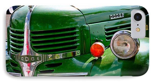 Dodge Truck IPhone Case by Les Palenik
