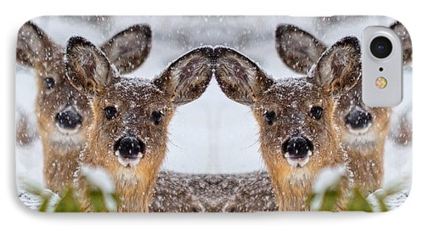 Doe You See Me IPhone Case
