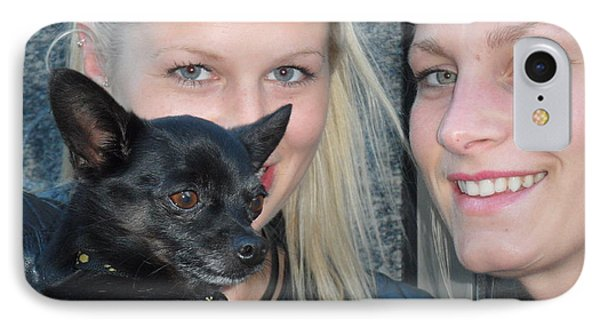 Dog And True Friendship 6 IPhone Case by Teo SITCHET-KANDA