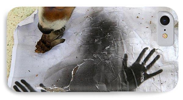 Dog Art IPhone Case by Danica Radman