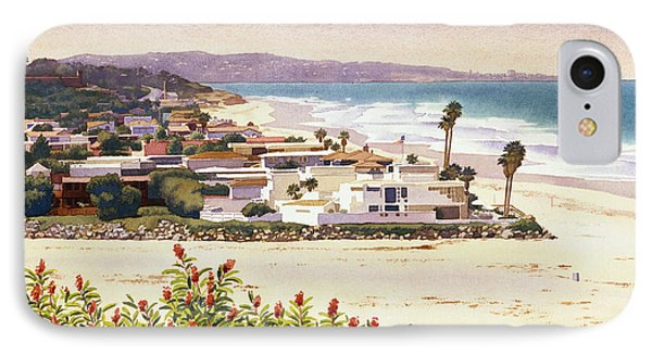 Dog Beach Del Mar IPhone Case by Mary Helmreich