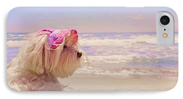 Dog Days Of Summer IPhone Case by Andrea Auletta