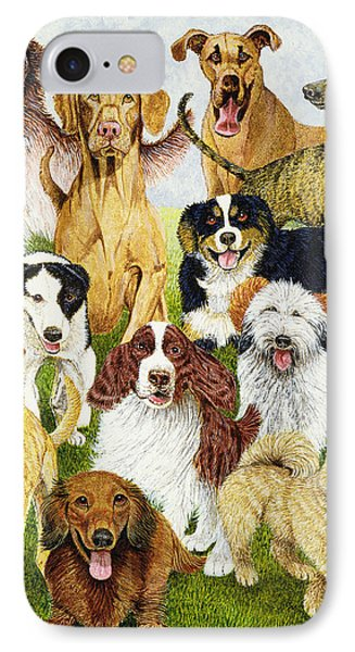 Dog Days IPhone Case