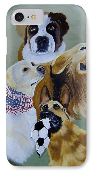 Dog Heros IPhone Case