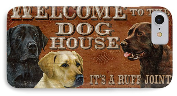 Dog House IPhone Case